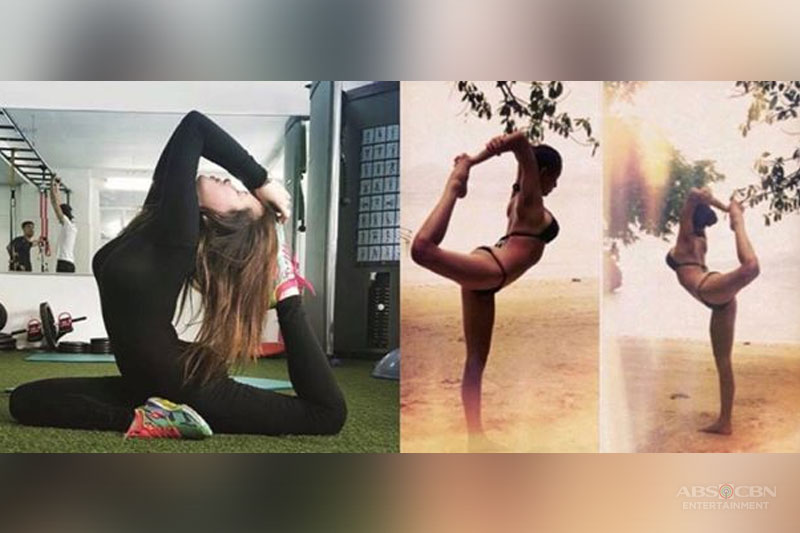 LOOK: 29 Times Ellen Adarna flaunts her fitness in  yoga poses