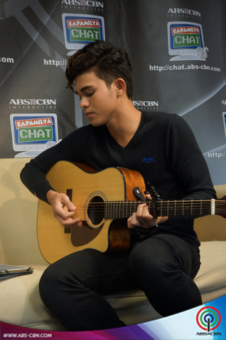 PHOTOS: The Ultimate Teen Heartthrob Inigo Pascual at the Kapamilya Chat