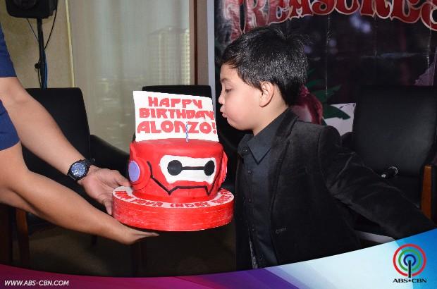 PHOTOS: Alonzo celebrates 5th Birthday at the Wansapanataym PressCon