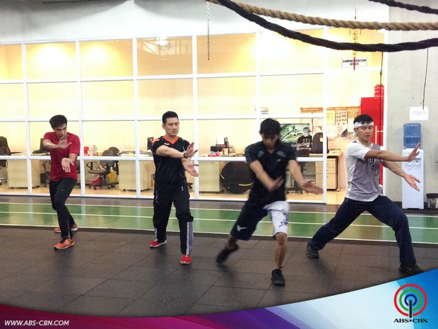 LOOK: Richard Yap and Enchong Dee, sumabak na sa training para sa My Kung Fu Chinito