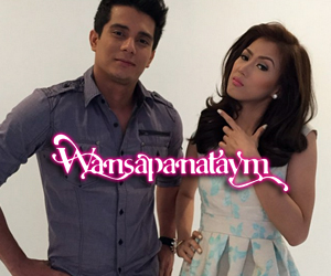 LOOK: Pasilip sa photoshoot nina Alex at Ejay for Wansapanataym Presents I Heart Kuryente Kid