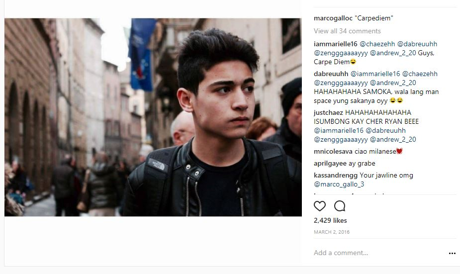 21 Photos of Marco Gallo that will surely melt your heart.