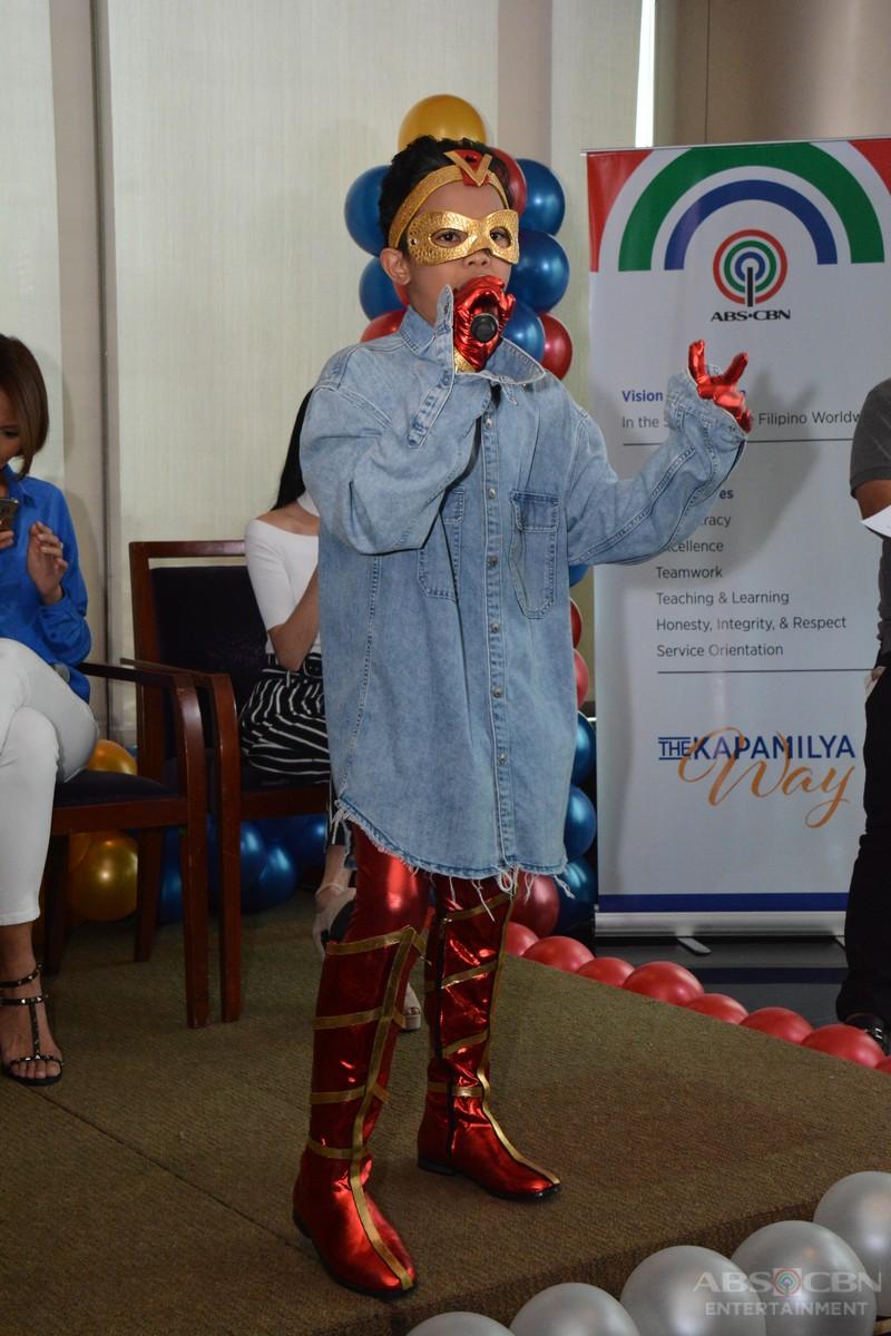 GRAND MEDIA LAUNCH: The stars of Wansapanataym Presents Amazing Ving meet the press