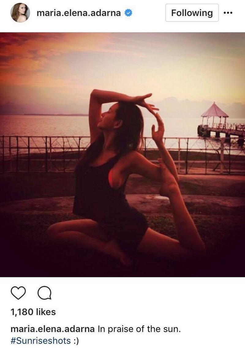 60 Unbelievable Yoga Poses of Ellen Adarna