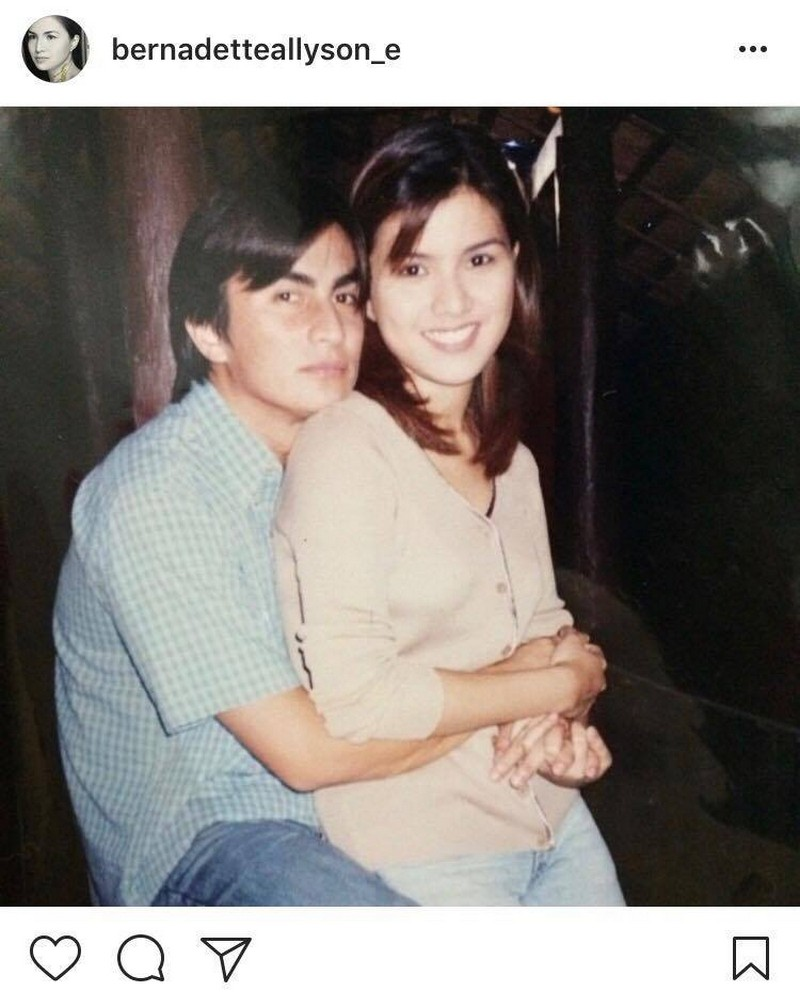 LOOK: Bernadette Allyson with her 'Honey' for 16 years!