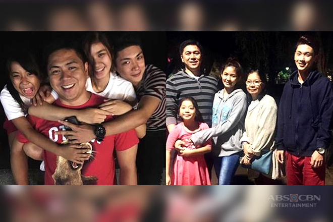 IN PHOTOS: Loisa Andalio with her one big happy family!