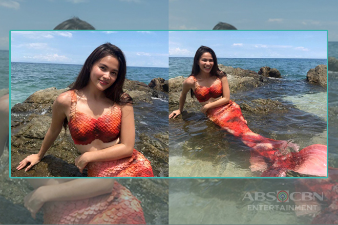 LOOK: Elisse Joson's beautiful transformation into a mermaid
