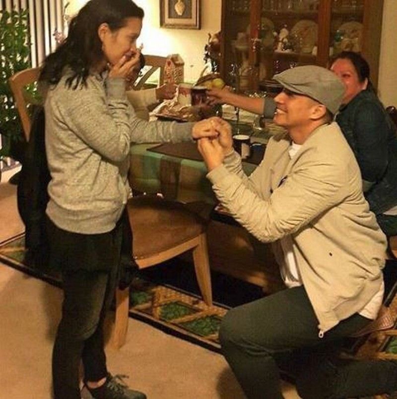 IN PHOTOS: Desiree del Valle with her number one Papi!