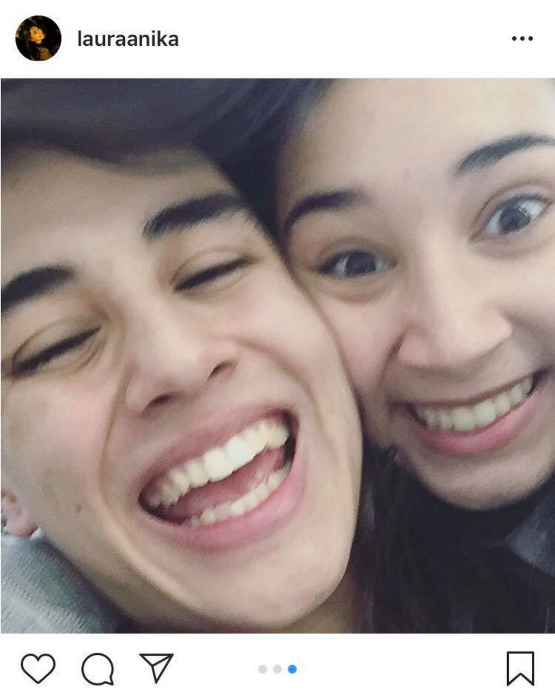 LOOK: Edward Barber with his beautiful partner in crime
