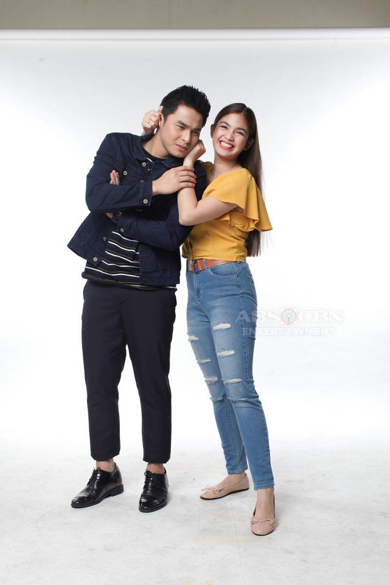 "IN PHOTOS: McCoy and Heaven ""kilig"" Pictorial for Wansapanataym's Mr. Cutepido"