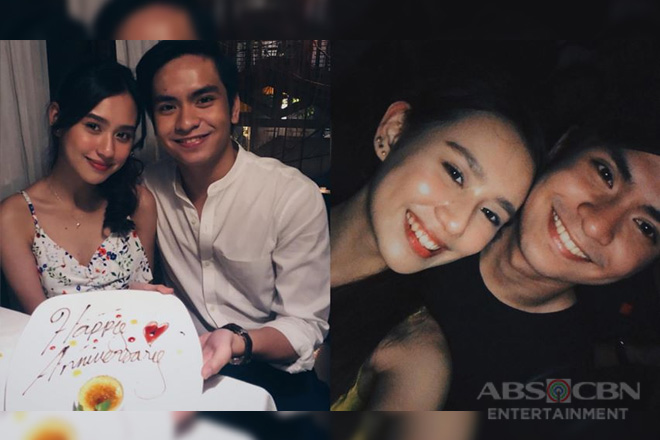 Happy Anniversary! Jairus Aquino with his gorgeous lovey