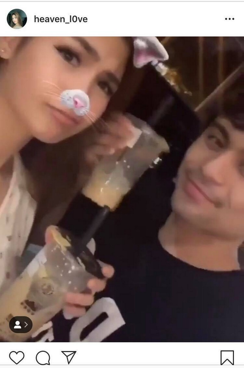 LOOK: Rare Photos of Heaven Peralejo with her real-life boyfriend