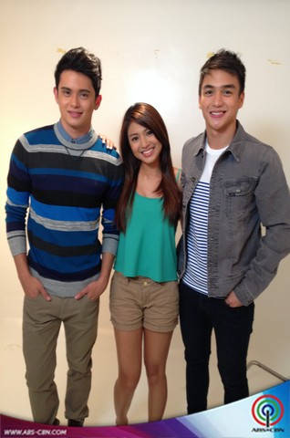 PICTORIAL PHOTOS: James Reid and Nadine Lustre with Dominic Roque